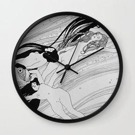Gustav Klimt - The Blood Of Fish Wall Clock