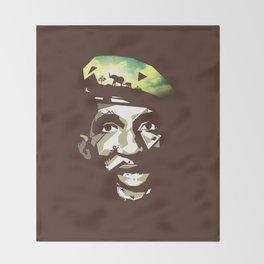 Thomas Sankara Throw Blanket