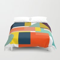 geo Duvet Covers featuring Geo by Mr and Mrs Quirynen