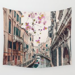 Venice Floral Sky Wall Tapestry