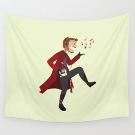 Dancing Quill Wall Tapestry