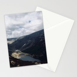 Stream into lake Stationery Cards