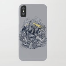 Zombie Exterminator Slim Case iPhone X