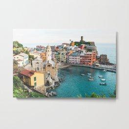 Vernazza, Italy (Landscape) Metal Print