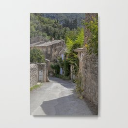 Village In Provence South Of France Metal Print