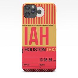 IAH Houston Luggage Tag 1 iPhone Case