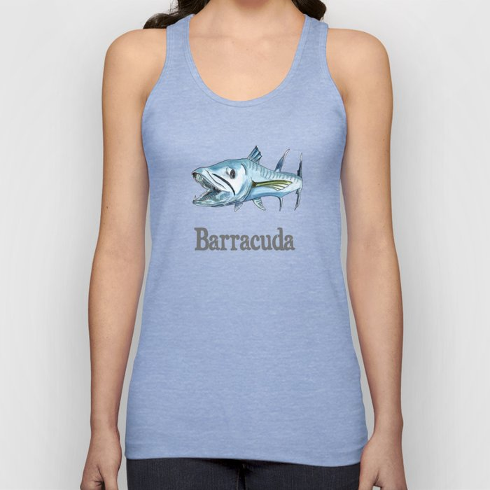 B is for Barracuda Unisex Tank Top