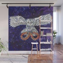 Owl & Snake Wall Mural