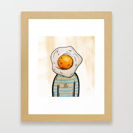 Fried Framed Art Print