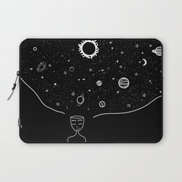 Galaxy in your Mind Laptop Sleeve