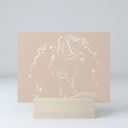 Celestial Hair Mini Art Print