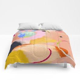 circles art abstract Comforters