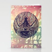 psych Stationery Cards featuring Psych Trap by ArtAngel