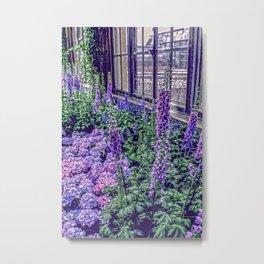 Indoor Spring Metal Print