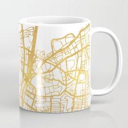TEL AVIV ISRAEL CITY STREET MAP ART Coffee Mug