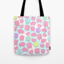 Little Piglets Tote Bag