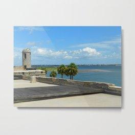 Protecting Matanzas Bay Metal Print