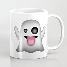 Ghost Emoji Coffee Mug