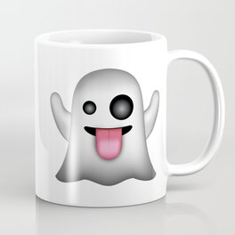 Ghost Emoji Coffee Mug