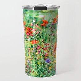 The Wild Flowers (Color) Travel Mug
