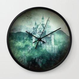 The dark fairytale - Bavarian Fairytale Castle Wall Clock