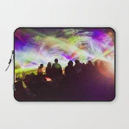 Laser show crowd Laptop Sleeve