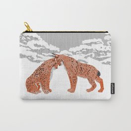 Lynx - Winter Forest Carry-All Pouch