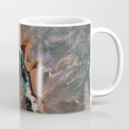 Earth treasures - Blue and orange agate Coffee Mug
