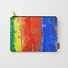 Tropical Tones Watercolour Carry-All Pouch