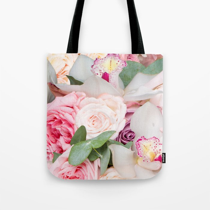 In a Giant's Flower Garden Tote Bag