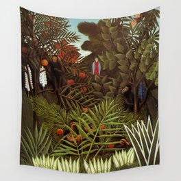 "Henri Rousseau ""Exotic landscape"", 1908 Wall Tapestry"