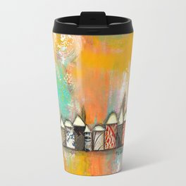 one fine day at the bach Travel Mug