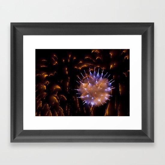 Efflorescence 8 Framed Art Print
