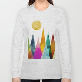 Moon in the Forest Long Sleeve T-shirt