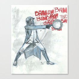 BamBamBam Canvas Print