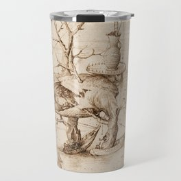 Hieronymus Bosch - The Tree-Man Travel Mug