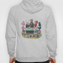 The Art of ruining conversation at dinner parties Hoody