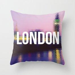 London - Cityscape Throw Pillow