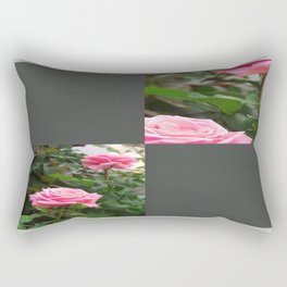 Pink Roses in Anzures 5  Blank Q6F0 Rectangular Pillow