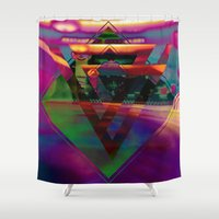 bar Shower Curtains featuring The Bar by I am mof