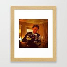 Majordome Framed Art Print