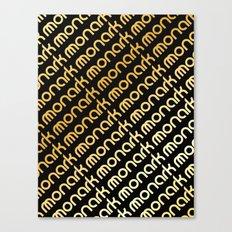M-Slants Canvas Print