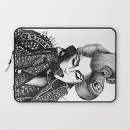 GIRL WITH A TELEPHONE Laptop Sleeve