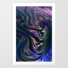C2 Fractal Art Print