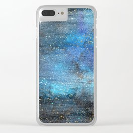 Exploring the Universe 12 Clear iPhone Case