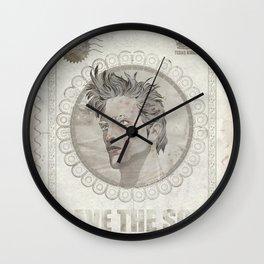 King of Tebas Wall Clock