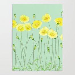 Yellow Wildflowers II Poster