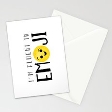 I'm Fluent In Emoji Stationery Cards