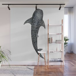 Whale shark for divers, shark lovers and fishermen Wall Mural
