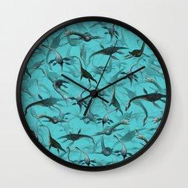 Plesiosaurus Wall Clock